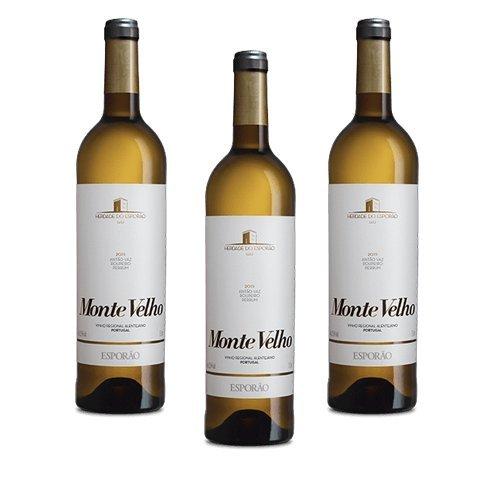 Monte Velho - Weißwein - 3 Flaschen
