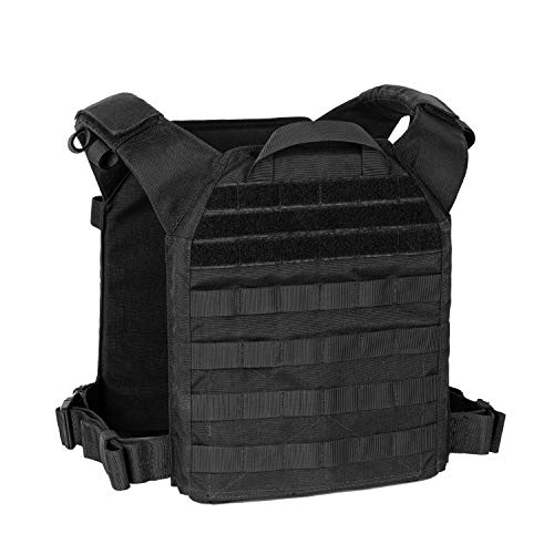 OneTigris Plattenträger Spartan Plate Carrier Taktische Weste Brustschützer für Airsoft Painball CS