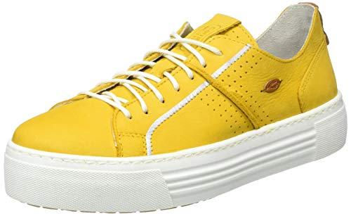 camel active Innocence, Zapatillas para Mujer, Amarillo (Yellow 06), 39 EU