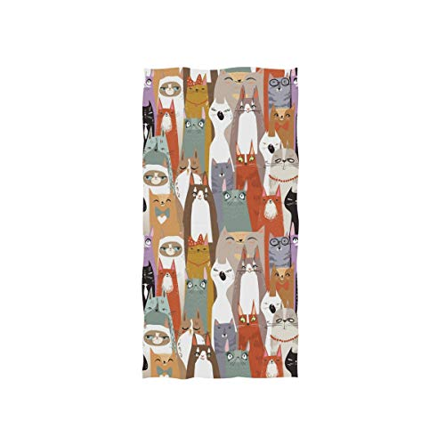"senya Whale Cute Cartoon Hand Towel Ultra Soft Luxury Towels for Bathroom 30""x15"""