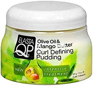 Olive Oil - Mango Butter Curl Defining Pudding, 15 oz (Pack of 3)