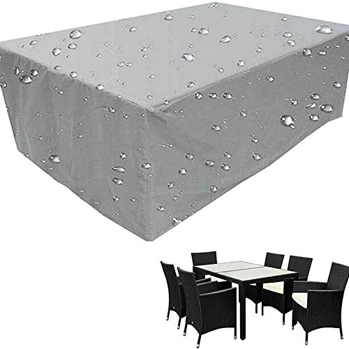 STZYY Möbelbezug, wasserdichte Abdeckungen für den Garten im Freien, Windschutz für den Gartentisch und -Stuhl, staubdicht, regensicher, schneesicher, UV-kombinierter Tisch- und Stuhlbezug, verwen