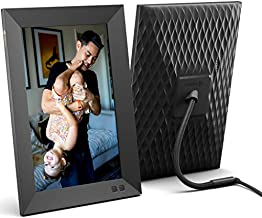 Nixplay 10.1 Inch Smart Digital Picture Frame, Share Video Clips and Photos Instantly via E-Mail or App