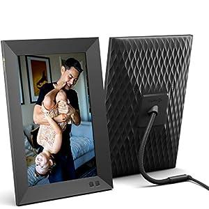 Nixplay Marco Digital Inteligente 10.1 Pulgadas, comparta Videoclips y Fotos al Instante a través de un e-Mail o la aplicación