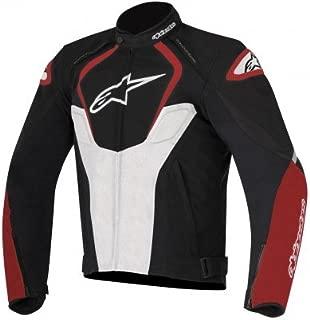 Alpinestars Men's T-Jaws Waterproof Jacket (Black/White/Red, Medium)