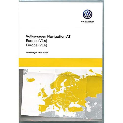 Volkswagen 5G0919866AL Kartendaten SD Karte Europa V16 Navi Update Navigationssystem Discover Media (nur System at, Generation 1, nur PR-Code 7RE)