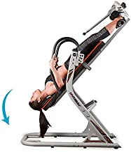 HARISON Inversion Table for Back Pain Relief with 3D Memory Foam, Back Stretcher Machine for Pain Therapy Training