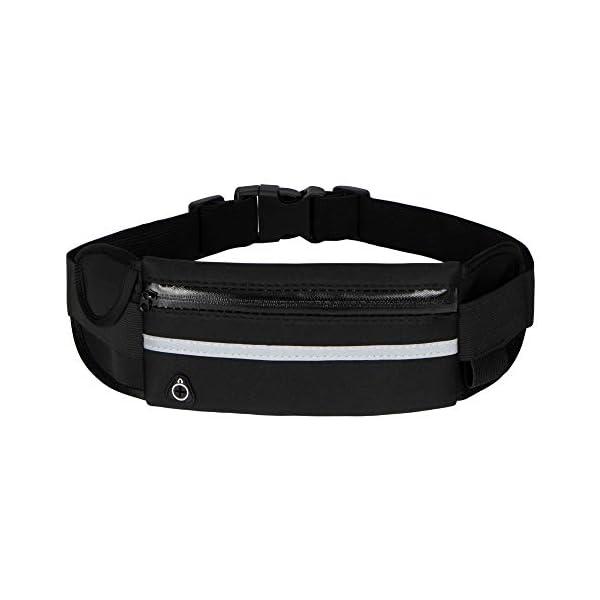 Running Belt Waist Packs,Workout Fanny Pack,Ultra Light Bounce Free Waist Pouch Fitness...