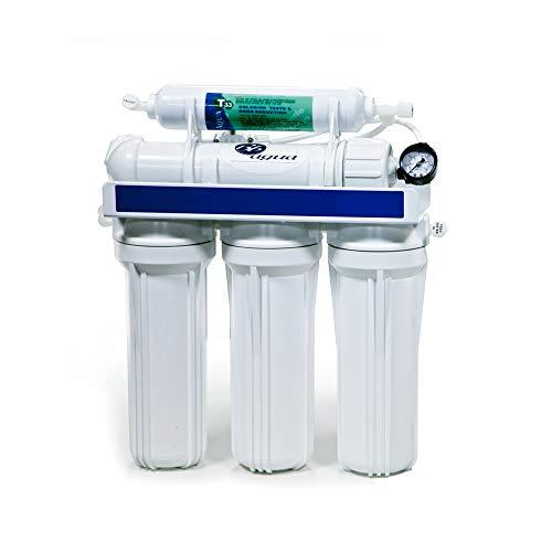 Bbagua 1 Equipo de Osmosis Inversa de 5 Etapas, Plástico, Blanco