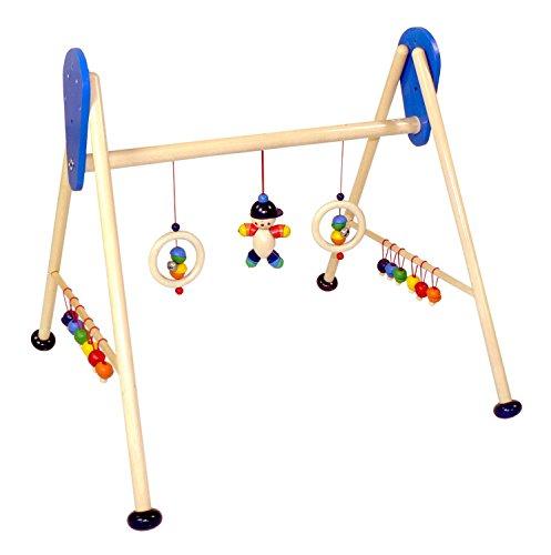 Hess Holzspielzeug 13328 - Babyspielgerät Joe, ca. 62 x 57 x 55 cm