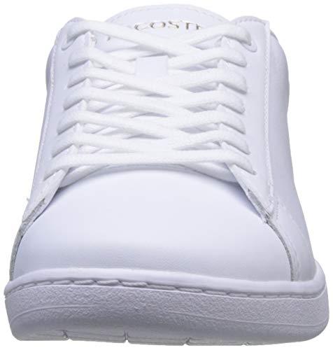 Lacoste Carnaby EVO 120 6 Us SFA, Zapatillas Mujer, Color Blanco, 421 g, 36 EU