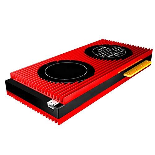 BMS 4S 10S 13S 150A 120A 200A 250A Lifepo4 Placa De Protección De Batería PCB Con Módulo Bluetooth, UART, Pantalla De Control Táctil (Color : 7s)