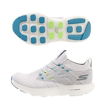 Skechers Go Run 7 Gray/Blue 7 B  M