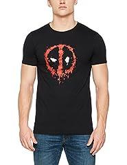 Marvel Deadpool Paint Logo Sudadera con Capucha para Hombre