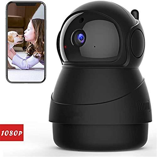 Video-Überwachungskamera, WiFi drahtlose Kamera 1080P, Innen-IP-Dome-Kamera, Nachtsichtgeräte, Audio 2-Kanal (Amazon...