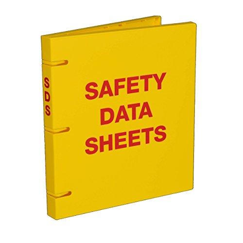 UniKeep Safety Data Sheets (SDS) Binder - 1.0 Ring Capacity, (3 Poly Rings)