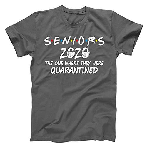TOFOTL Oberteile Damen,Senioren 2020 Der, wo sie unter sozialer Quarantäne standen T-Shirt