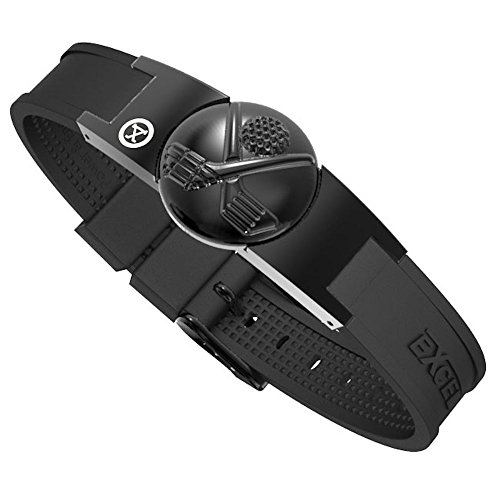 PROEXL Golf Magnetic Bracelet in Black with Detachable Ball Marker and Gift Box (Clubs Black/Black)