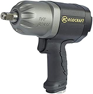 Rodcraft Air Impact Wrench Rc2277 1250nm 1/2 Inch Square Drive