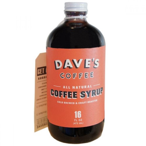 Dave's 16 Oz Original All Natural Cold Brewed Coffee Syrup