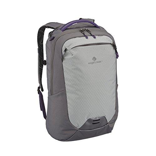Eagle Creek Laptop Rucksack Wayfinder Backpack mit Rückensystem für Frauen, 30 L Rucksack, 50 cm, 30 Liter, Graphite/Amethyst