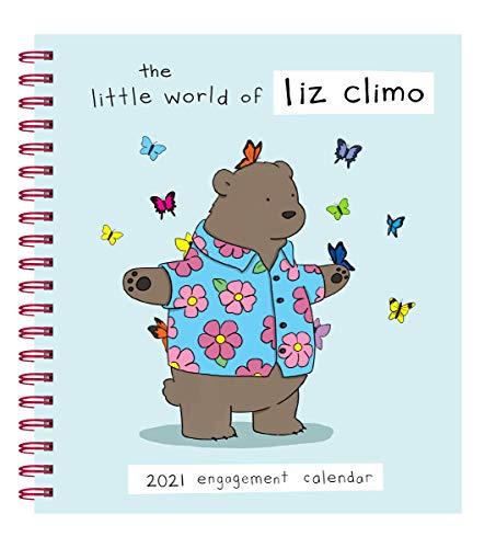Liz Climo 2021 Engagement Calendar: (Weekly Calendar of Animal Comic Strips, Funny Animal Cartoon Planner Calendar)
