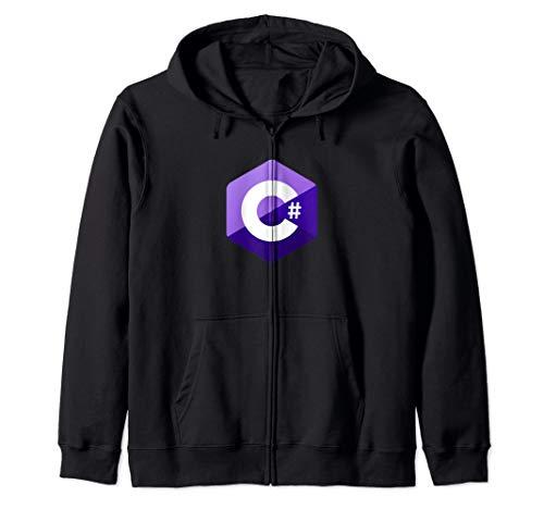 C# (C Sharp) Programmierer Kapuzenjacke