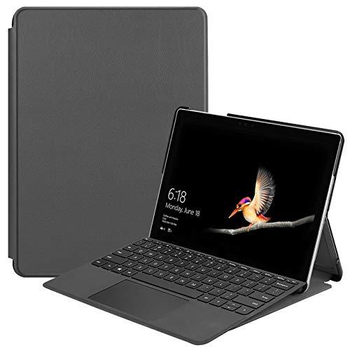 "Lobwerk - Custodia per Tablet Microsoft Surface Go 2-in-1 da 10"", con Funzione Auto Sleep/Wake Grigio Grau"