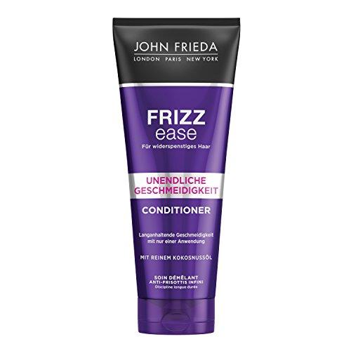 John Frieda Frizz Ease Unendliche Geschmeidigkeit Spülung/Conditioner - 1er Pack (1 x 250 ml) - nährt das Haar tiefenwirksam - verleiht Geschmeidigkeit
