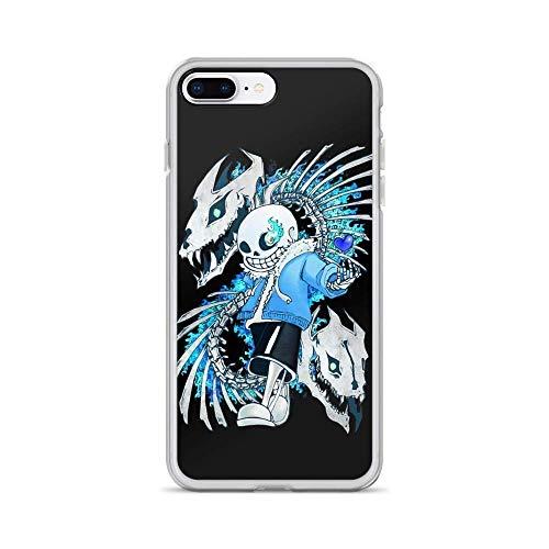 Pure Clear Phone Case Undertale:Sans Compatible with iPhone 12 Pro Max 12 Mini 11 Pro Max X/XS Max XR SE 2020/8/7 6/6s Plus Samsung S21 Ultra Case Accessories Scratch Drop