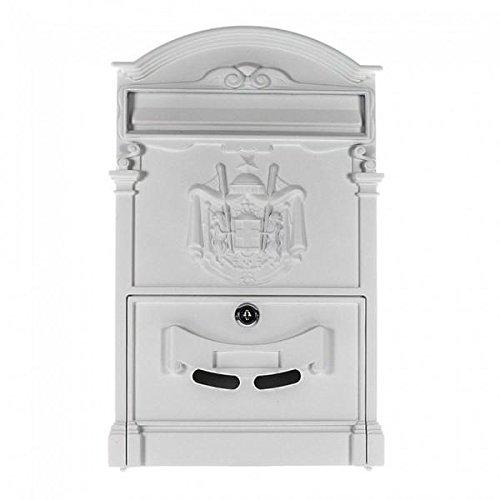 Traditionele Post Box witte brievenbus artistieke ontwerper HDM-100 Home Design