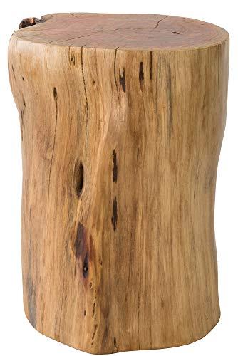 宮武製作所 スツール ブラウン 32x33x48cm MASALA(マサラ) 天然木丸太 CH-L340