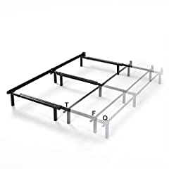 Durable steel frame adjusts easily to fit the width of a standard Twin, Full, or Queen Recessed outer legs make getting in and out of bed easy and painless Measures 70.5 Inches L x 7 Inches H, with adjustable widths of 38.5 Inches, 53.5 Inches, and 6...