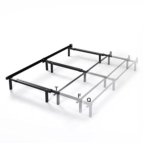 Zinus AZ-SBF-U2  Michelle Compack Adjustable Steel Bed Frame for Box Spring and Mattress Set, Fits Twin to Queen sizes