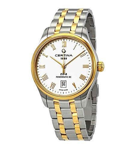 Certina DS-8 Reloj automático para hombre con esfera blanca C033.407.22.013.00