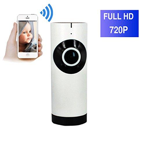 ShengyaoHul ¨¹berwachungskamera Ip, 720P HD Indoor ¨¹berwachungskamera-System, 1 Mp Nocken¨¹berwachung Mit Stent / Infrarot Nachtsicht / Nachtsicht