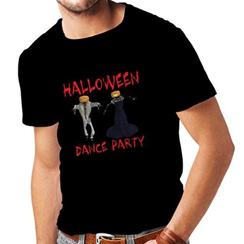 lepni.me Camisetas Hombre Disfraces Fiesta de Danza de Halloween Eventos Traje Ideas (Small Negro Multicolor)