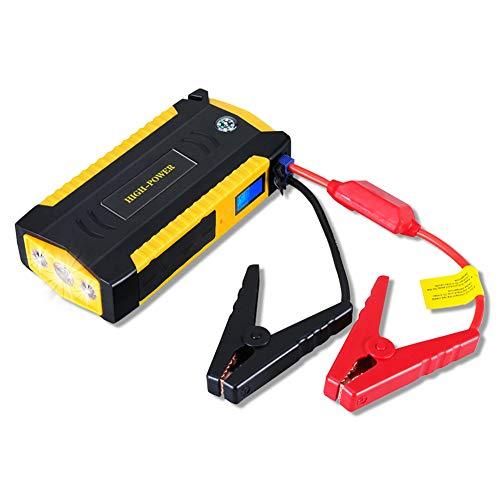 Fangke Car Jump Starter Power Bank 12000mAh 600A 12V Dispositivo De Arranque Reforzador De Emergencia PortáTil Cargador De BateríA De Coche AutomáTico Gas