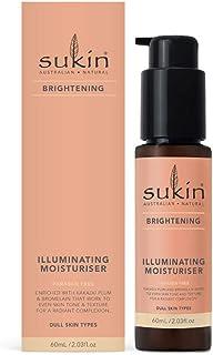 Sukin Sukin Brightening Illuminating Moisturiser 60ml, 60 milliliters