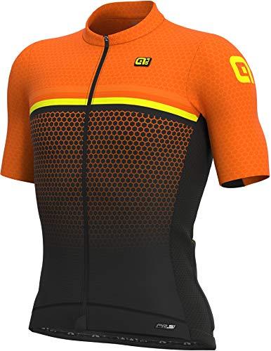 Alé Cycling PR-S Bridge Kurzarm Trikot Herren Fluo orange Größe L 2021 Radtrikot kurzärmlig