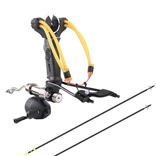 YuXing TOY Professional Hunting/Fishing Slingshot Include Fishing Reel...