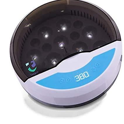 Tackly Automatischer Inkubator für Hühnereier, Geflügeleier, 9 / 12 Geflügeleier, mit Temperaturregelung, ideal für den Gebrauch im Haus oder als Geschenk für Kinder