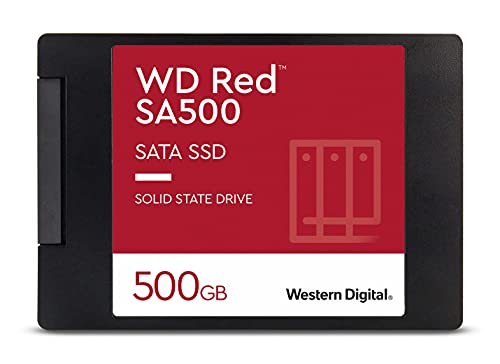 Western Digital WD Rojo SSD 2.5 SATA, 500 GB, Rojo
