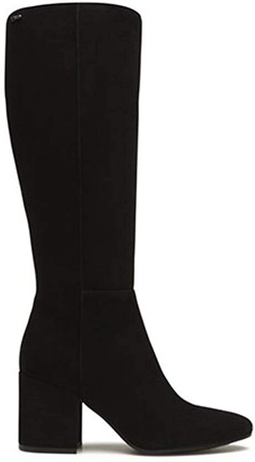 IGI & CO 2195400 Black high Leather Boot with Woman Made in  Heel