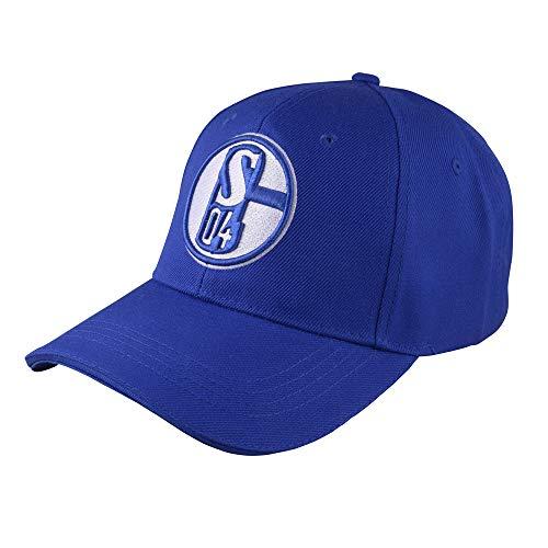 """CAP KAPPE MÜTZE """"Königsblau"""" FC SCHALKE 04 S04"""