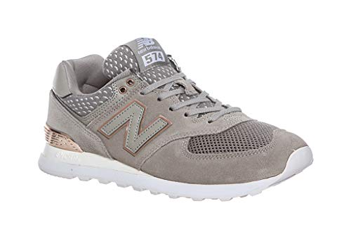New Balance 574 Mujer Zapatillas Gris
