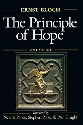 The Principle of Hope, Volume 1