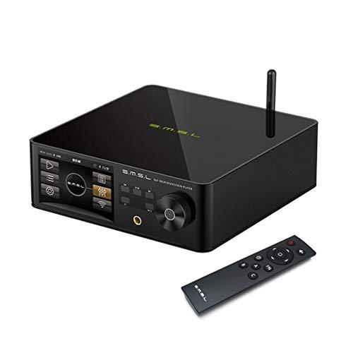 SMSL DP5 Lettore musicale di rete Hi-Fi ES9038PRO MQA 32bit 384kHz DSD256 Supporto Bluetooth Lettore formato audio