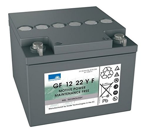 GF12022Y Sonnenschein Batterie GF12022YF (GF 12 022 Y F/GF 12 22 Y)