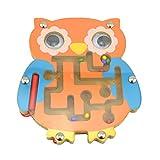 LANDUM Rompecabezas de Juguete, Cute Animal Mazes Baby Juguetes Educativos Puzzle Desarrollo Intelectual - A#